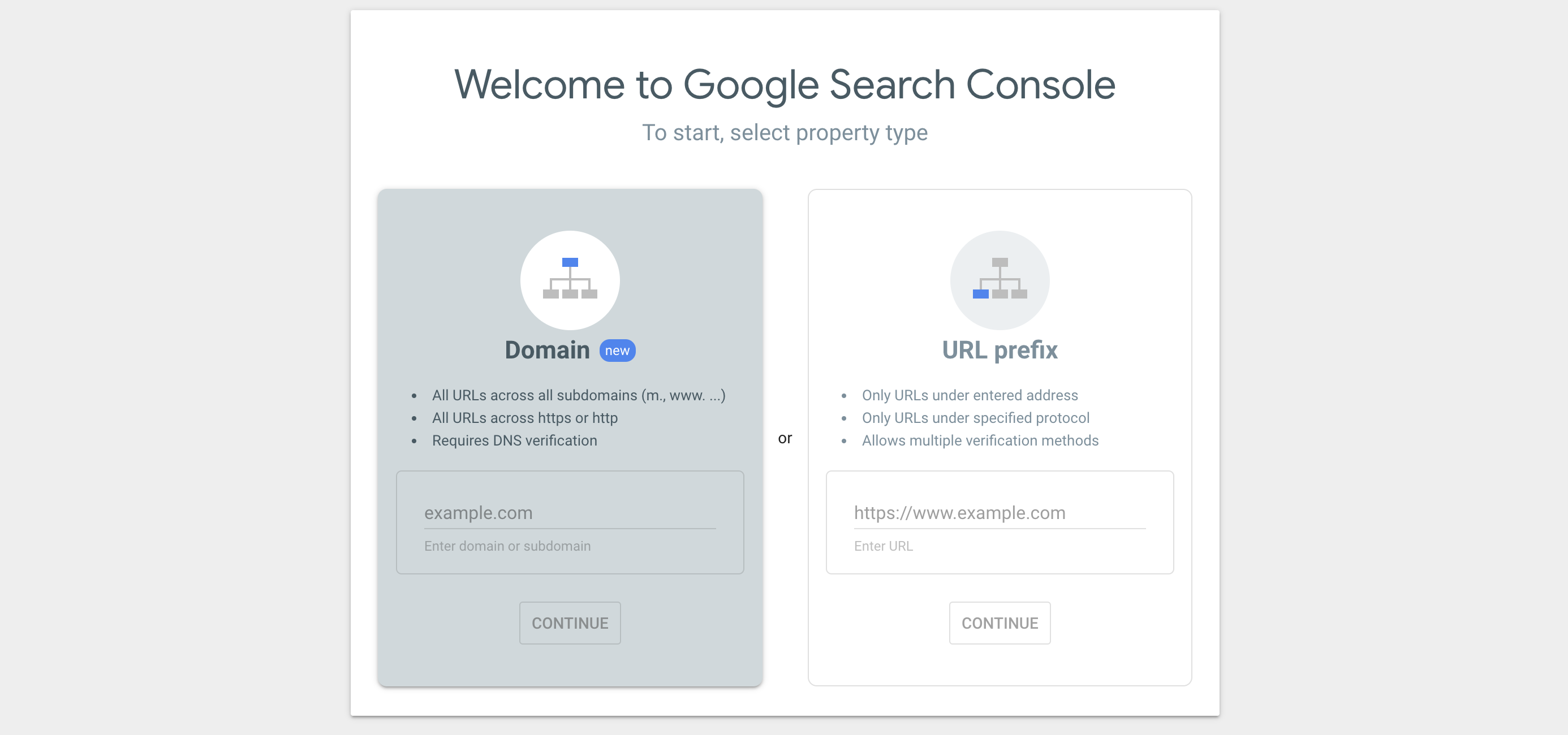 retroactive data is available in google search console